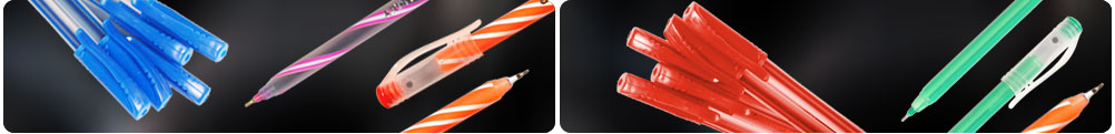 Klik Ball Pen Manufacturers India, Indian Pen Refills Suppliers and Exporters, Klik Ball Pen Refills Manufacturers from kolkata.
